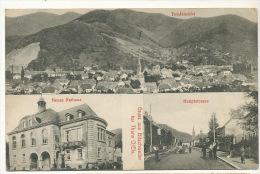 Gruss Aus Bitschweiler Bei Thann Hauptstrasse Neues Rathaus Edit J. Kuntz Gebweiler - Other Municipalities