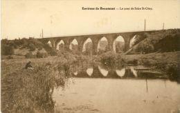 Solre St-Géry - Le Pont Et La Hantes  ( Voir Verso ) - Beaumont