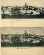 Solre St. Géry -lez-Beaumont - Joli Panorama Du Village - 2 Cartes N& B Et Couleur ( Voir Verso ) - Beaumont