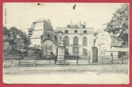 Court-Saint-Etienne - Ruines Du Château Du Comte De Lamotte - 1908 ( Voir Verso ) - Court-Saint-Etienne
