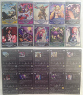 Yuukyuu No Sharin ( Eternal Wheel ) :  10 Japanese Trading Cards - Trading Cards