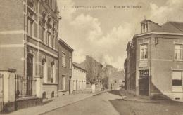 Court-Saint-Etienne  - Rue De La Station -1924 ( Voir Verso ) - Court-Saint-Etienne
