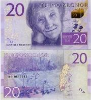 SWEDEN       20 Kronor       P-New       ND (2015)       UNC - Zweden