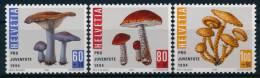 Switzerland Schweiz Mushrooms Pilze Set (3) °BM0758 MNH - Pilze