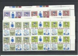 BERMUDAS YVERT 214/17 (BLOQUE DE 4)  MNH  ** - Bermudas