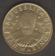SAN MARINO 200 LIRE 1997 PITTURA - San Marino