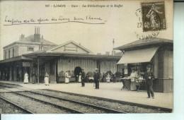 LISON Gare La Bibliothèque Et Le Buffet - Autres Communes