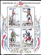 FRANCE 1989        Bicentenaire De La Révolution Française      Philexfrance 89 - Blocs Souvenir