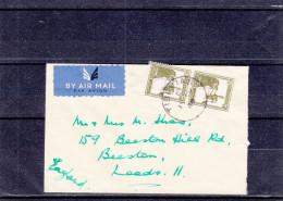 Palestine - Lettre De 1948 ? - Petit Format - Oblitération Tibirias - Palestine
