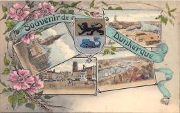 NORD  59  DUNKERQUE    SOUVENIR  FANTAISIE   VUES MULTIPLES - Dunkerque