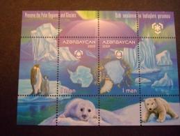 AZERBAIJAN  2009  POLAR YEAR  IPY International Polar Year 2009  MNH **  (0531-250) - Preservar Las Regiones Polares Y Glaciares