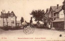 45 BEAUNE-la-ROLANDE  Route De Pithiviers - Beaune-la-Rolande
