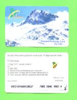 BHUTAN - Remote Phonecard As Scan - Bhoutan