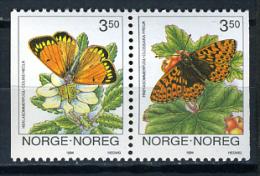 1994 - NORVEGIA - Catg. Mi.  1143/1144 - NH - (CAT20151182265) - Nuovi