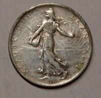 1 Franc SEMEUSE  - 1911 - - France