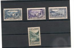 ANDORRE   Années 1937/43 N°Y/T : 72*-89*-90**-91*