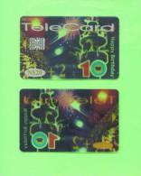 NAMIBIA - Chip Phonecard/Transparent - Namibia
