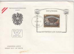 Austria FDC 1983 300 Jahre Entsatz Von Wien Bb160111 - FDC