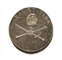 Franciscus II Empereur Ducat Osterreich Lege Et Fide Coronation 1792 Argent Silver Silber - Royal / Of Nobility