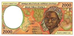East African States - Afrique Centrale Cameroun 2002 Billet 2000 Francs Pick 203 H Neuf 1er Choix UNC - Cameroun