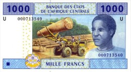 East African States - Afrique Centrale Cameroun 2002 Billet 1000 Francs Pick 207 Neuf 1er Choix UNC - Kameroen