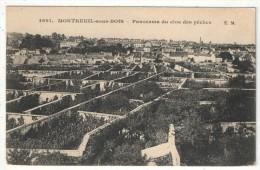 93 - MONTREUIL-SOUS-BOIS - Panorama Du Clos Des Pêches - EM 4691 - Montreuil