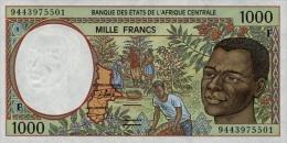 East African States - Afrique Centrale Centrafrique 1994 Billet 1000 Francs Pick 302 B Neuf 1er Choix UNC - Centrafricaine (République)