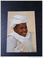 Niger Carte Postale Maurice Ascani , Charn. Arrière  Jeune Garcon Toubou - Niger