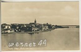 Lyck Von 1930 Blick Von See Zur Stadt (21999-6-Z) - Ostpreussen