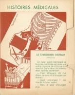 "SANTE - MEDECINE - DOCTEUR - ""HISTOIRE MEDICALE - LE CHIRURGIEN DISTRAIT"" - CPA.double - ILLUSTRATEUR Marcel PRANGEY - Künstlerkarten"
