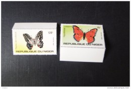 Niger Papillons N° 625 Et 626 BDF MNH** - Niger (1960-...)