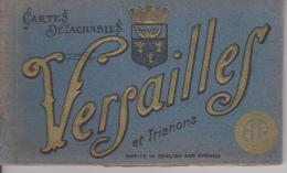 CARNET  DE   12   VUES  ARTISTIQUES  DE  VERSAILLES  ET  TRIANON - Postcards