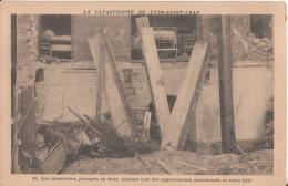 69   Lyon  La Catastrophe De Lyon Saint Jean - Lyon
