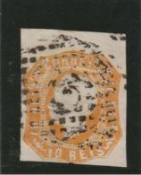 Portugal _  Dom Pedro V  6 __ N° 14 (1855 ) - ...-1853 Préphilatélie