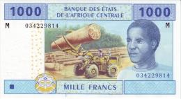 East African States - Afrique Centrale Centrafrique 2002 Billet 1000 Francs Pick 307 Neuf 1er Choix UNC - Central African Republic