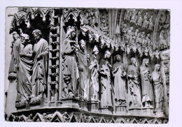 8042   Cpm   METZ   : Portail De Vierge  De La Cathédrale  , Carte Photo !! 196 , ACHAT DIRECT !! - Metz