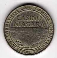 Jeton De Slot Machine à Sou : Casino Niagara 25 Cents Ontario Canada - Casino
