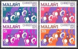 Malawi 1973 Religion Christentum Feiertage Weihnachten Christmas Heilige Drei Könige Morgenland, Mi. 207-0 ** - Malawi (1964-...)