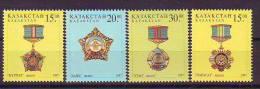 Kazakhstan 1997 Y Medals Ordens Mi No 178-81 MNH - Kasachstan