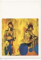 Georges Baselitz Né En 1938  (huile Sur Toile) Musée Georges Pompidou Neuve (nu) - Peintures & Tableaux