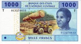 East African States - Afrique Centrale Congo 2002 Billet 1000 Francs Pick 107 Neuf 1er Choix UNC - Republic Of Congo (Congo-Brazzaville)