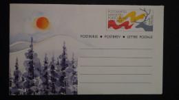 Finland - 1991 - Mi: F 4* - Postal Stationery - Look Scan - Interi Postali