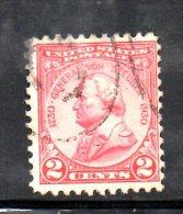 Y1043 - STATI UNITI 1930 , Il N . 494 Usato . Von Steuben - Used Stamps