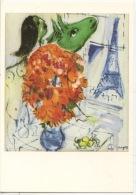 Marc Chagall : Tour Eiffel Au Bouquet (Paris Peintres) N°170 Neuve - Eiffelturm
