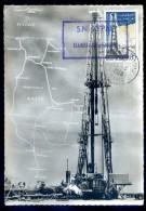 Cpsm Algérie Hassi Messaoud Une Grande Sonde -- Carte Maximum    DEC15 15 - Cartes-Maximum