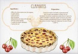 Recette - CLAFOUTIS Aux Cerises - 00019 RP012 - S.A. APA-POUX - TBE - Recettes (cuisine)