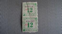 Bus Ticket From Colombo Sri Lanka No 2 - Fahrkarte - Transportation