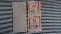 Bus Ticket From Sri Lanka No 4 - Fahrkarte - Transportation