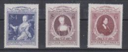 """Österreich 1980:  """"200.Todestag Von Kaiserin Maria Theresia"""" Kpl.Satz Postfrisch - 1971-80 Unused Stamps"""