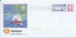 Prêt à Poster MERLIMONT Votre Horizon (Agrément N° 807) - Neuf - Biglietto Postale